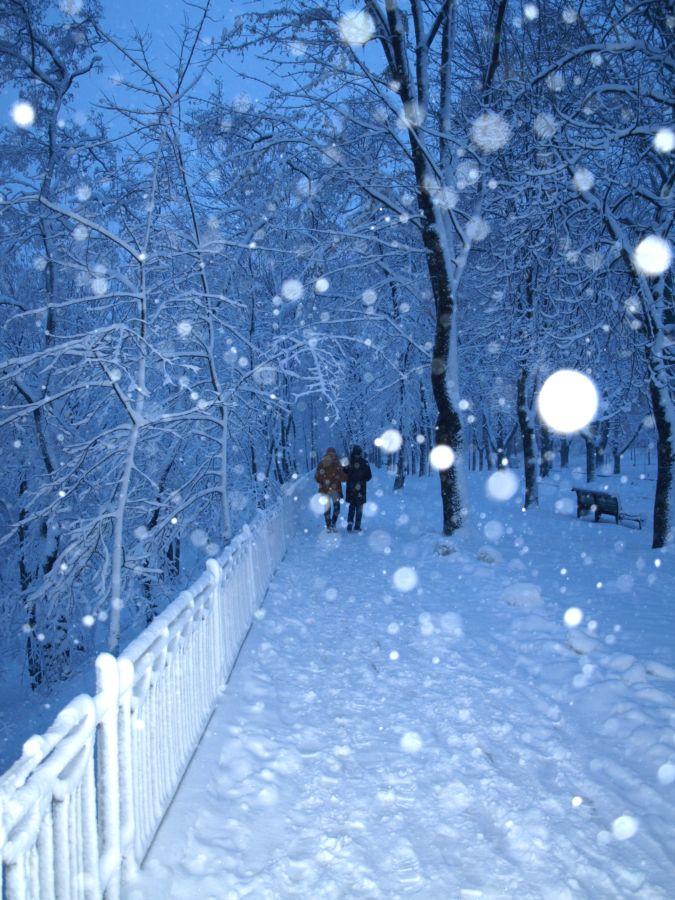 Сніжинки плагіну Let It Snow!