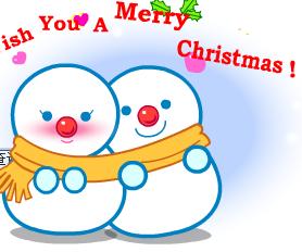 Два сніговики на сайті