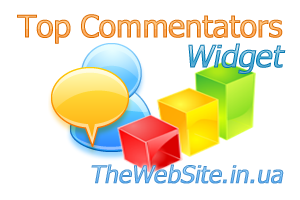 Плагін Top Commentators Widget