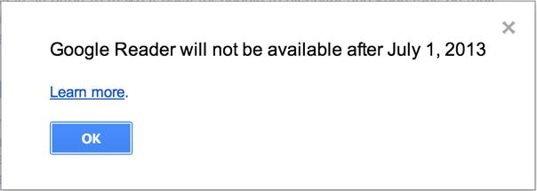 Google Reader закривається